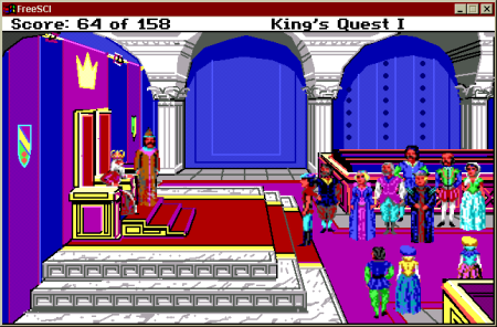 El final de la primera aventura de King's Quest